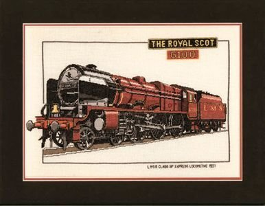 Heritage Crafts Kits HCK0124 Dave Shaw ~ Heritage Classics ~ The Royal Scot