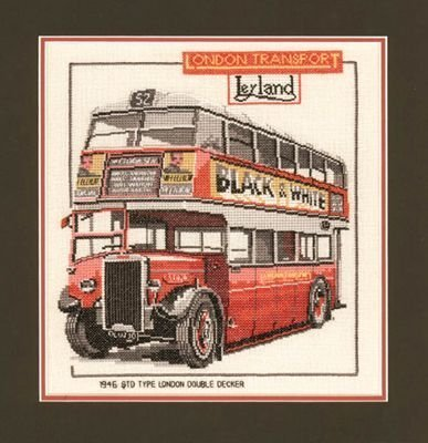 Heritage Crafts Kits HCK0159 Dave Shaw ~ Heritage Classics ~ London Double Decker Bus