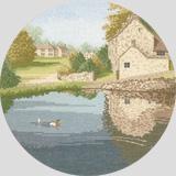 Heritage Crafts Kits HCK0242 John Clayton ~ Circles ~ Duck Pond