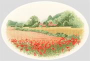 Heritage Crafts Kits HCK0254 John Clayton ~ The Collection ~ Poppy Farm