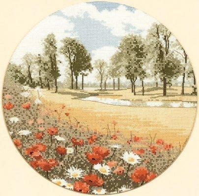 Heritage Crafts Kits HCK0261 John Clayton ~ Circles ~ Summer Meadow