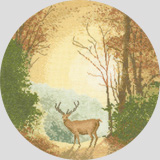 Heritage Crafts Kits HCK0268 John Clayton ~ Circles ~ Autumn Light