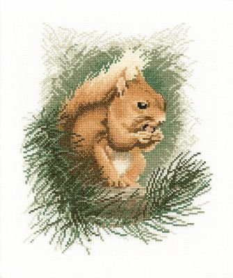 Heritage Crafts Kits HCK0295 John Stubbs ~ Wildlife Collection ~ Red Squirrel