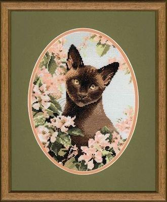 Heritage Crafts Kits HCK0304 John Stubbs ~ Cats Collection ~ Burmese Cat