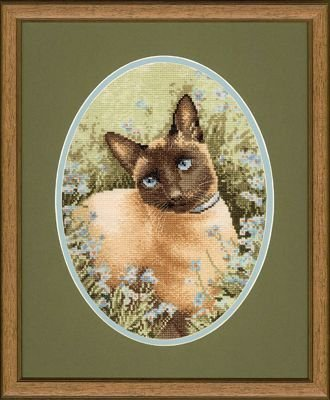 Heritage Crafts Kits HCK0305 John Stubbs ~ Cats Collection ~ Siamese Cat