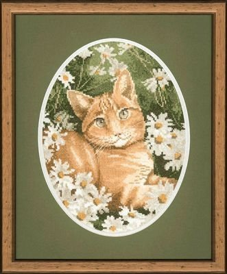Heritage Crafts Kits HCK0306 John Stubbs ~ Cats Collection ~ Ginger Cat