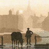 Heritage Crafts Kits HCK0329 Phil Smith ~ Silhouettes ~ Welcome Drink