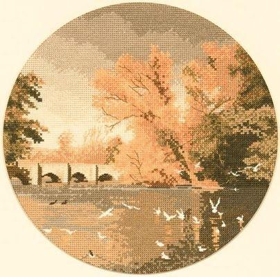 Heritage Crafts Kits HCK0397 John Clayton ~ Circles ~ Autumn Reflections