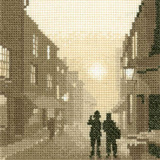 Heritage Crafts Kits HCK0411 Phil Smith ~ Silhouettes ~ On The Beat