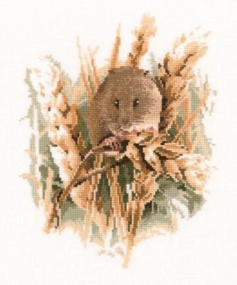 Heritage Crafts Kits HCK0438 John Stubbs ~ Wildlife Collection ~ Harvest Mouse