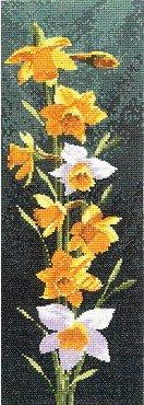 Heritage Crafts Kits HCK0469 John Clayton ~ Flower Panels ~ Daffodil