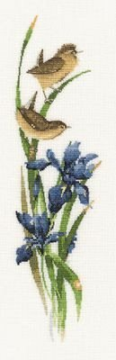Heritage Crafts Kits HCK0541 Valerie Pfeiffer ~ Duets ~ Rhapsody In Blue