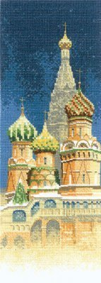 Heritage Crafts Kits HCK0581 John Clayton ~ Internationals ~ St. Basil's Cathedral