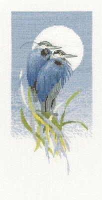 Heritage Crafts Kits HCK0592 Valerie Pfeiffer ~ Harmonies ~ Moon Watchers