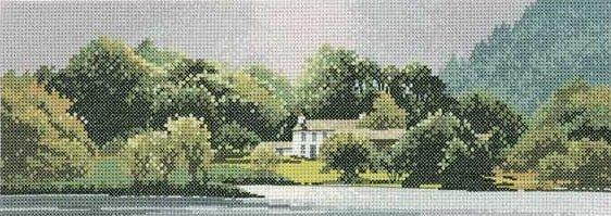 Heritage Crafts Kits HCK0612 John Clayton ~ Panoramas ~ Lakeside House