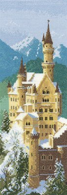 Heritage Crafts Kits HCK0620 John Clayton ~ Internationals ~ Neuschwanstein Castle