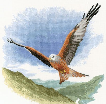 Heritage Crafts Kits HCK0652 John Clayton ~ Flights Of Fancy ~ Red Kite In Flight