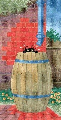 Heritage Crafts Kits HCK0660 Toni Goffe ~ Little Black Cat ~ Cooling Off