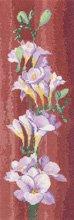Heritage Crafts Kits HCK0685 John Clayton ~ Flower Panels ~ Freesia