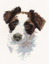 Heritage Crafts Kits HCK0748 Pauline Gledhill ~ Animal Portraits ~ Scruff