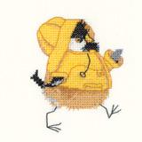 Heritage Crafts Kits HCK0840 Valerie Pfeiffer ~ Chickadees ~ Rain Chick