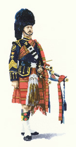 Heritage Crafts Kits HCK0844 Malcome Greensmith ~ Pipe Major