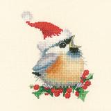 Heritage Crafts Kits HCK0866 Valerie Pfeiffer ~ Chickadees ~ Christmas Chick