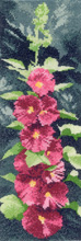 Heritage Crafts Kits HCK0878 John Clayton ~ Flower Panels ~ Hollyhocks