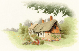 Heritage Crafts Kits HCK0922 John Clayton ~ The Collection ~ Anne Hathaway's Cottage
