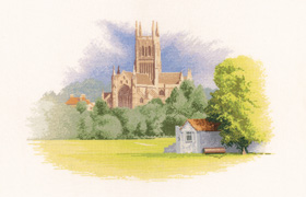 Heritage Crafts Kits HCK0923 John Clayton ~ The Collection ~ Worcester Cathedral