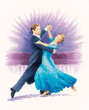 Heritage Crafts Kits HCK0928 John Clayton ~ Dancers ~ Viennese Waltz