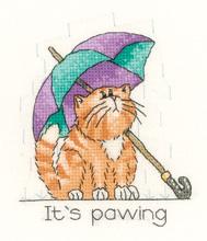 Heritage Crafts Kits HCK0934 Peter Underhill ~ Calendar Cats ~ April Cat