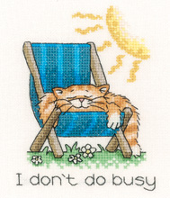 Heritage Crafts Kits HCK0938 Peter Underhill ~ Calendar Cats ~ August Cat