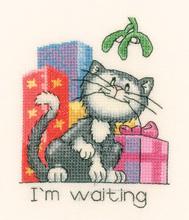 Heritage Crafts Kits HCK0942 Peter Underhill ~ Calendar Cats ~ December Cat