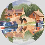 Heritage Crafts Kits HCK0947 John Clayton ~ Circles ~ Canal Reflections