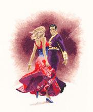 Heritage Crafts Kits HCK0950 John Clayton ~ Dancers ~ Paso Doble
