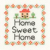Heritage Crafts Kits HCK0960 Aida Mini Kit ~ Home Sweet Home