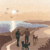 Heritage Crafts Kits HCK0975 Phil Smith ~ Silhouettes ~ Morning Walk