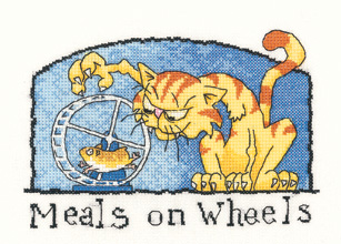 Heritage Crafts Kits HCK0984 Peter Underhill ~ Tiddles ~ Meals On Wheels