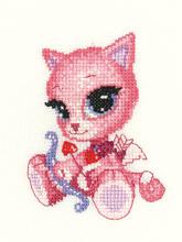 Heritage Crafts Kits HCK0987 James Ryman ~ Kitty Kats ~ Little Cupid