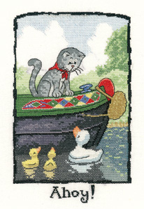 Heritage Crafts Kits HCK0991 Peter Underhill ~ Cats Rule ~ Ahoy
