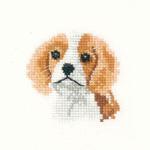 Heritage Crafts Kits HCK1028 Valerie Pfeiffer ~ Little Friends ~ Spaniel Puppy