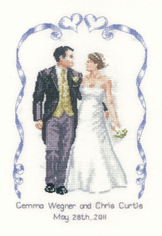 Heritage Crafts Kits HCK1029 Peter Underhill Collection ~ Wedding Celebration