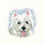 Heritage Crafts Kits HCK1031 Valerie Pfeiffer ~ Little Friends ~ Westie Puppy