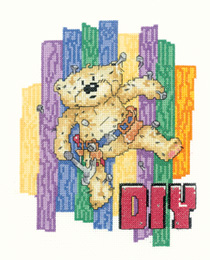 Heritage Crafts Kits HCK1047 Peter Underhill ~ Bad Taste Bears ~ Do It Yourself