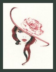 Heritage Crafts Kits HCK1248A John Clayton ~ Elegance ~ Jasmine ~ 14 Count Aida