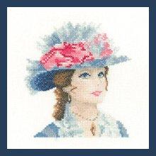 Heritage Crafts Kits HCK1251A John Clayton ~ Elegance Miniatures ~ Maria ~ 14 Count Aida