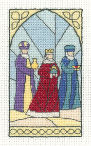 Heritage Crafts Kits HCK1289 ~ Susan Ryder ~ Christmas Cards ~ Wise Men ~ 14 Count Aida
