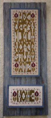 HinzeitHZA2ABC Folk Art ABC Block