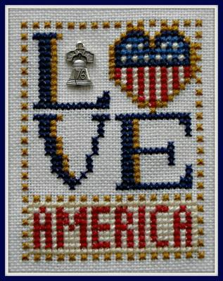 HinzeitHZLB31 Love Bits ~ Love America